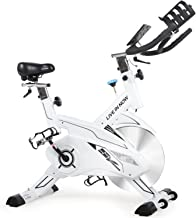 L NOW Indoor Cycling Bike-Pro Exercise Bike with 35lbs Solid Flywheel, Tablet Holder, Pulse and LCD Display Smooth and Quiet for Home Cardio Gym