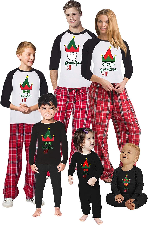 Awkward Styles Christmas Pajamas for Family Xmas Elf Grandma Grandpa Matching Christmas Sleepwear Men PJ Set Style 5 L