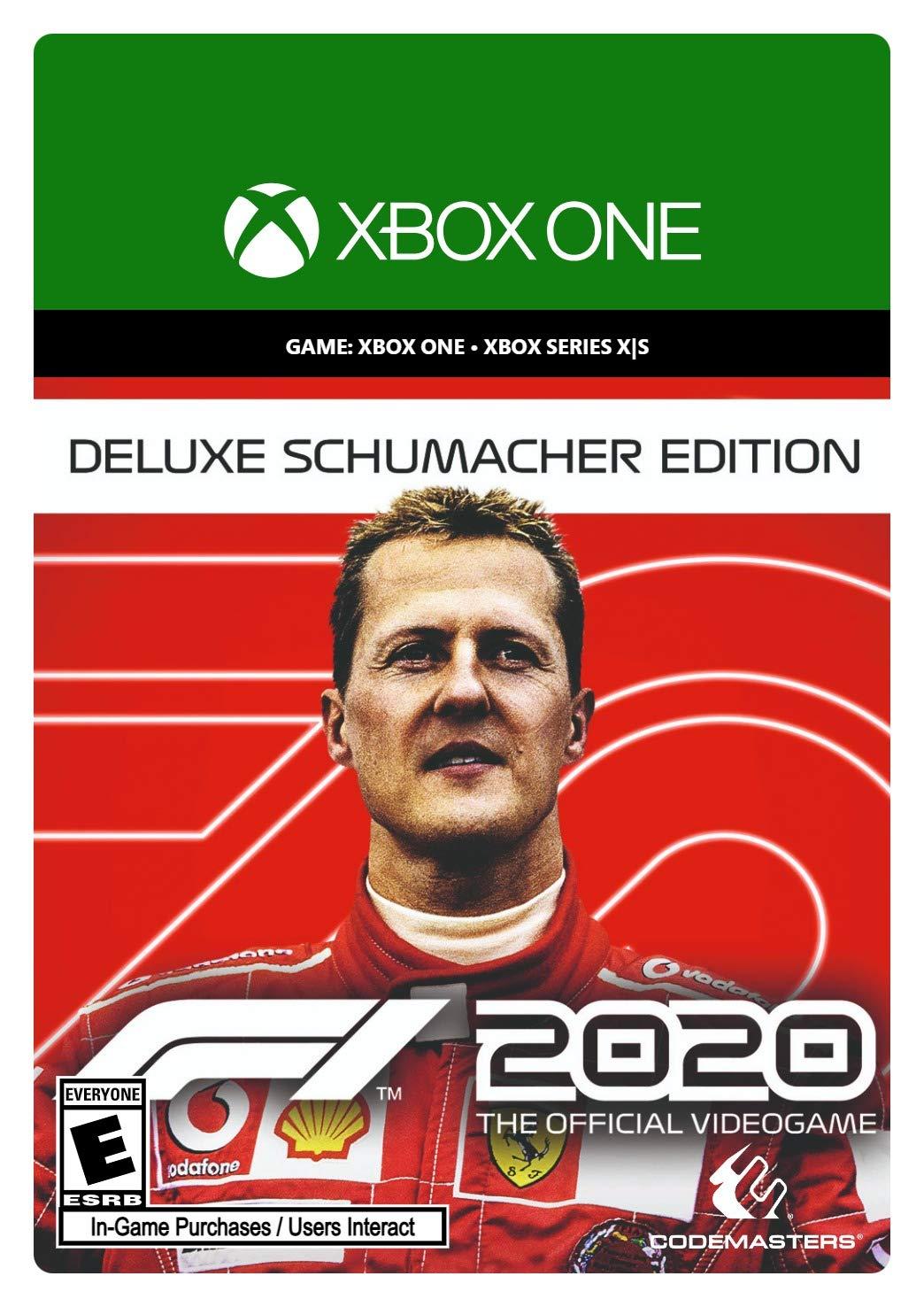 security F1 2020 Deluxe - Code Digital Ranking TOP6 Xbox