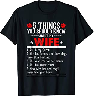 5 things you should know about my wife she is my Queen she