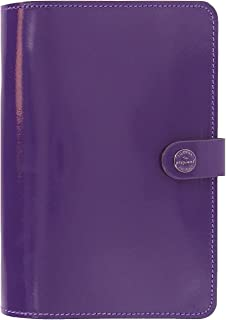 Filofax The Original Organiser Patent Purple Personal with Diary 2018