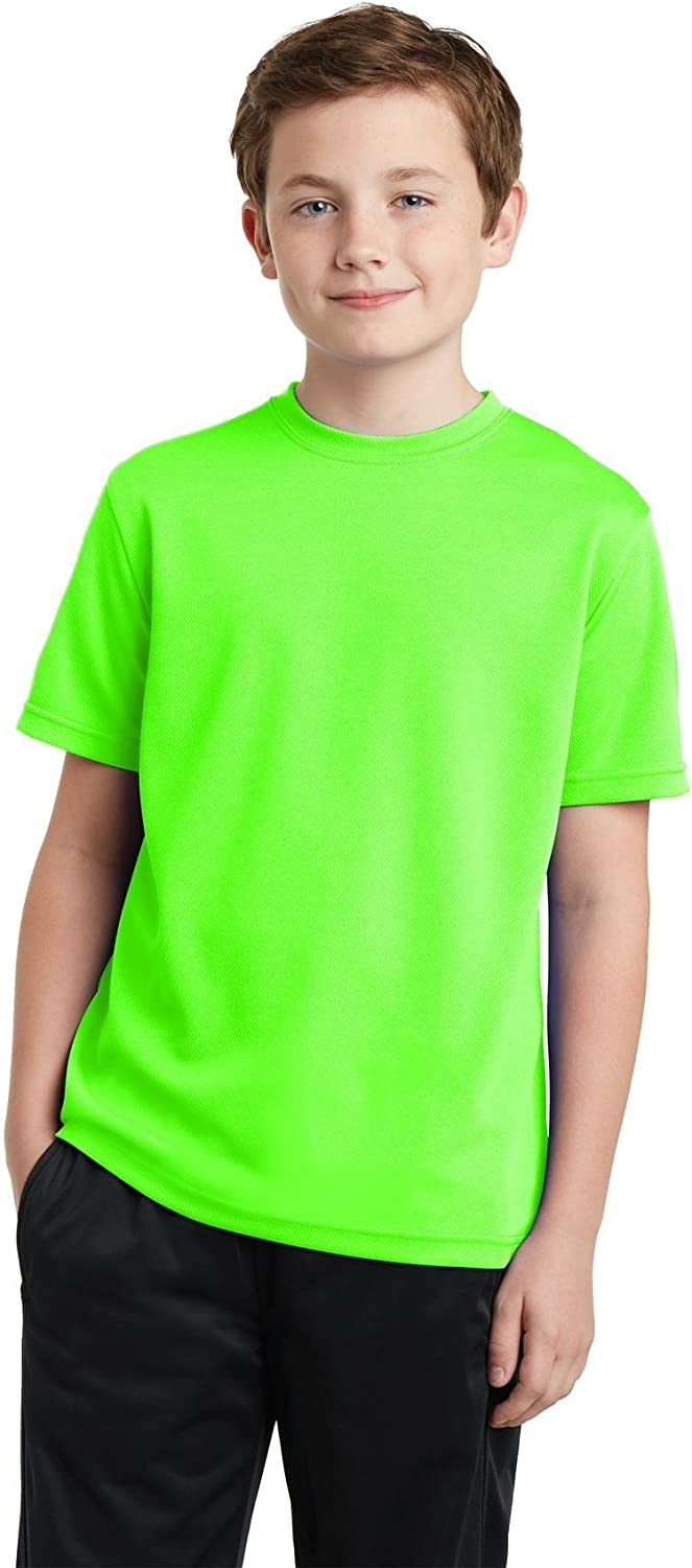 Sport-Tek Youth PosiCharge YST340 Tee. Cheap mail Wholesale order specialty store RacerMesh