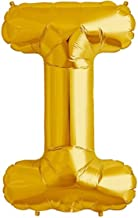"The golden store 16"" Alphabet Letter Shape Golden foil Balloon (I Letter) for Corporate Events Decorations"