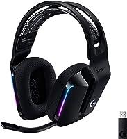 Logicool G 羅技 G 游戲耳機 G733-BK PS5 PS4 PC Switch Xbox LIGHTSPEED 無線 7.1ch usb BLUE VO!搭載CE系統 帶麥克風 278克 超輕 LIGHTSYNC RGB...