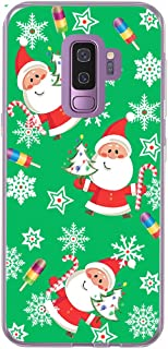 S9 Case & Galaxy S9 Cover & MUQR Skin Rubber Gel Silicone Slim Drop Proof Protection Protector Compatible with Samsung Galaxy S9 & Christmas Santa Theme Cute Design Scene Gift