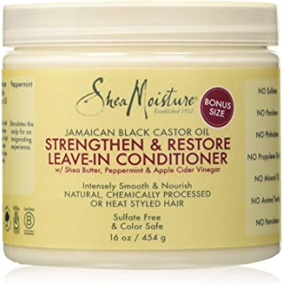 Shea Moisture Jamaican Black Castor Oil Strengthen/Grow and Restore Leave in Conditioner..