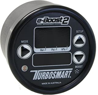 Turbosmart TS-0301-1003 e-Boost2 Black/Black 60 mm Sport Compact Boost Management System