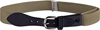 Buyless Fashion Kids Elastic Adjustable Strech Belt with Leather Closure