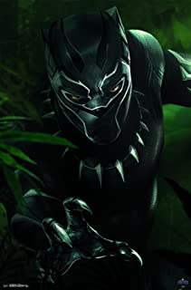 Trends International MCU - Black Panther - T'Challa Wall Poster, 22.375