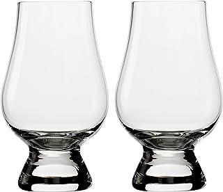 The Glencairn Glass Nosingglas Whiskey Whisky Glas 2 Stück übereinander