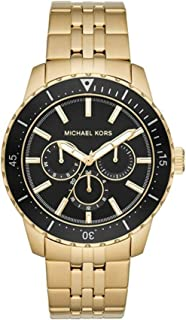 Michael Kors Men's Cunningham Multifunction Gold-Tone Stainless Steel Watch MK7154