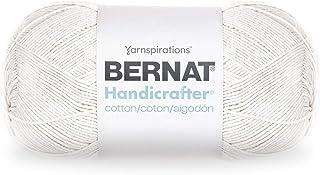 Bernat Handicrafter Cotton Yarn, 14 oz, Off White, 1 Ball