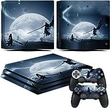 EBTY-Dreams Inc. - Sony Playstation 4 Pro (PS4 Pro) - Final Fantasy VII (FFVII) Cloud & Sephiroth Vinyl Skin Sticker Decal