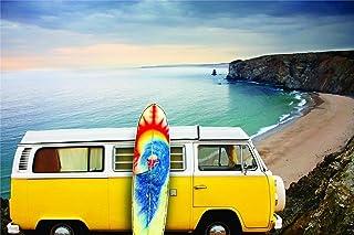 Design with Vinyl Color 166 Woodstock Hippie Truck Living Room Home Decor Bedroom Living Room Picture Art Graphic Design I...