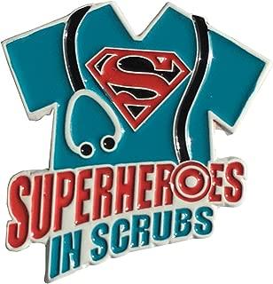 superheroes in scrubs
