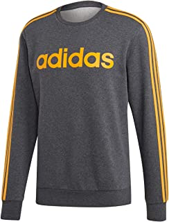 adidas Men's Essentials 3 Stripes Crew Sweatshirt