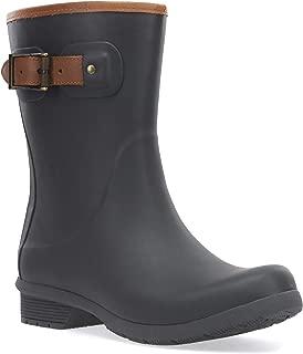 chooka buckle fabric rain boot