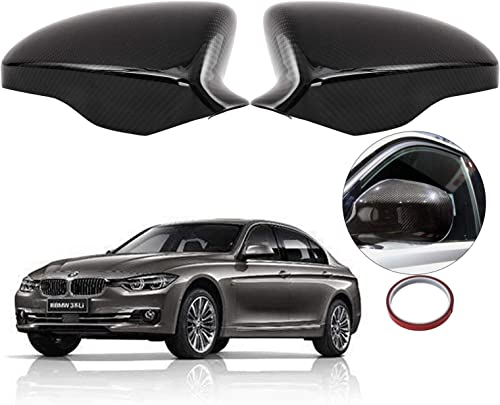 wholesale Mophorn Mirror Covers For 2013 2014 2015 2016 new arrival BMW F10 5 Series Direct ADD ON outlet sale Replacement Carbon Fiber Cap online