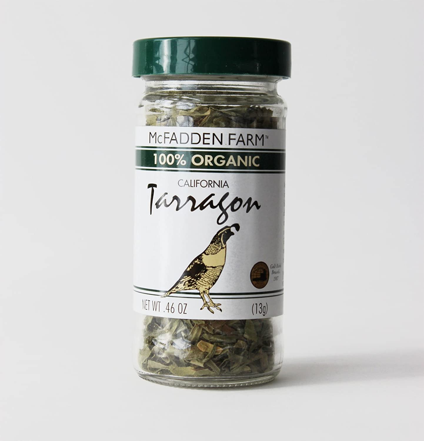 McFadden Challenge the lowest price Farm Organic Tarragon Dried and Grown Minneapolis Mall in Herb packed