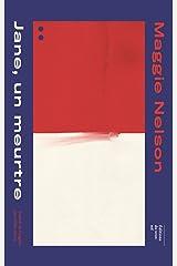 Jane, un meurtre (French Edition) Kindle Edition