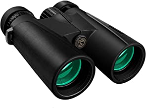 Cayzor 12x42 Binoculars for Adults - Professional HD Clear Weak Light Vision for Bird Watching Traveling Concerts Sports - BAK4 Prism FMC Lens