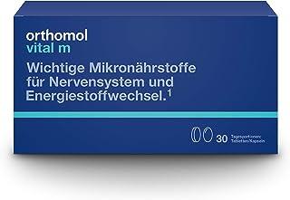 Orthomol vital m 30-talet tabletter och kapslar – vitaminer vid trötthet & uttömning – kosttillskott för män