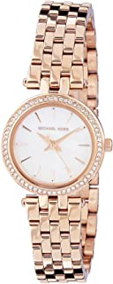 MICHAEL KORS Women's MK3832 Year-Round Analog-Digital Quartz Rose Gold Watch