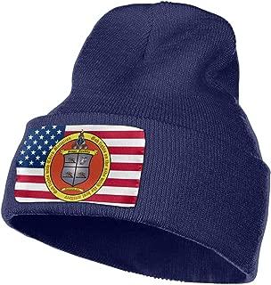 3rd Battalion 11th Marines Men&Women Warm Winter Knit Plain Beanie Hat Skull Cap Acrylic Knit Cuff Hat
