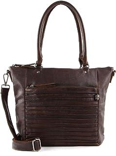 FREDsBRUDER Riffell Cara Shopper Tasche Leder 28 cm