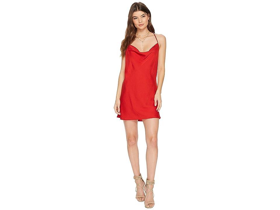 07e45187e5d The Jetset Diaries Ellil Cowl Dress (Ruby) Women s Dress