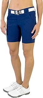 Jofit New Belted Golf Short - Blue Depth