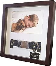 King Pup Pet Memorial Frame with Collar Display. 4
