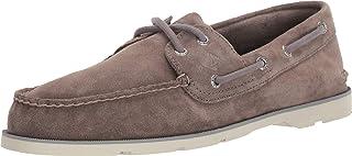 SPERRY Men's, Leeward Boat Shoe Grey Suede 11.5 M