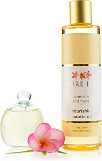 Pure Fiji Coconut Milk and Honey Exotic Oil, 8 Ounce