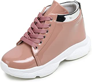 D-SNEAKERZ High Ankle Shoes for Women Girls Latest Light Weight Casual Use Sneaker Shoes for Girls Stylish Ladies Comforta...