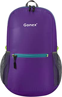 Gonex Ultralight Handy Travel Backpack,Water Resistant Packable Backpack Daypack..