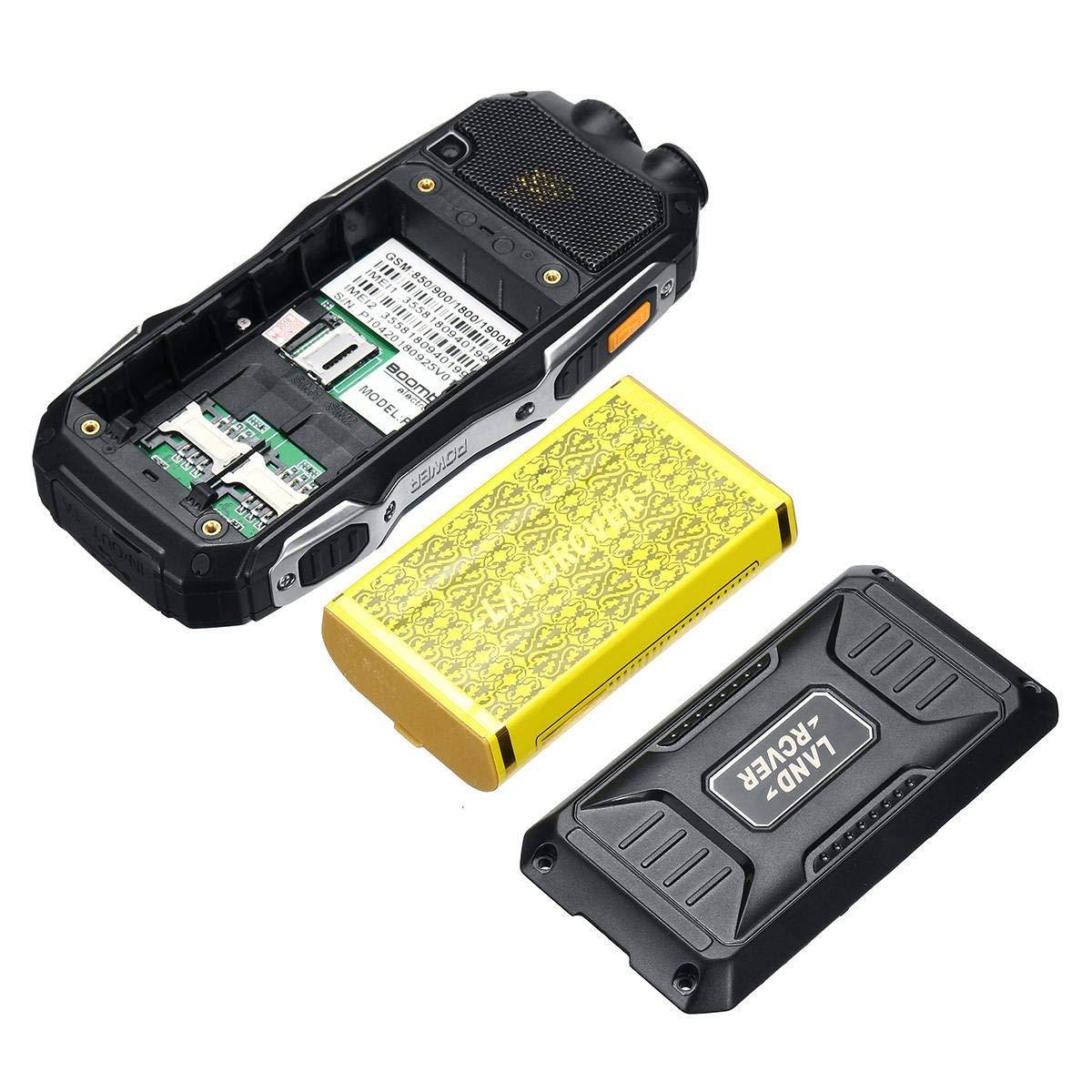 Zhanyiyi Antena walkie-Talkie 2.4inch 19800mah Resistente Dual SIM ...