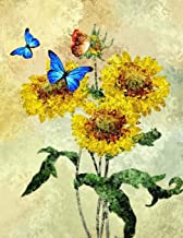 Composition Notebook: Lovely Butterfly And Sunflower Composition Notebook, Composition Notebook For Girls, Composition Notebook For Boys, 150 Pages, ... Composition Notebook College Ruled (Edition)