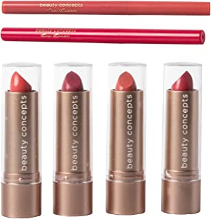 B.C. Beauty Concepts 6 Piece Lipstick Collection