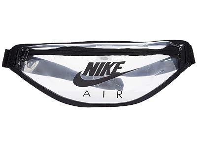 Nike Heritage Hip Pack Clear (Clear/Black/Black) Handbags