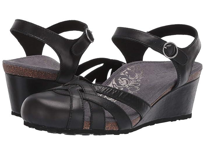 Aetrex  Lindsay (Black) Womens Sandals