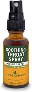 Herb Pharm Soothing Throat Spray Herbal Formula with Echinacea and Propolis, 1 Fl Oz