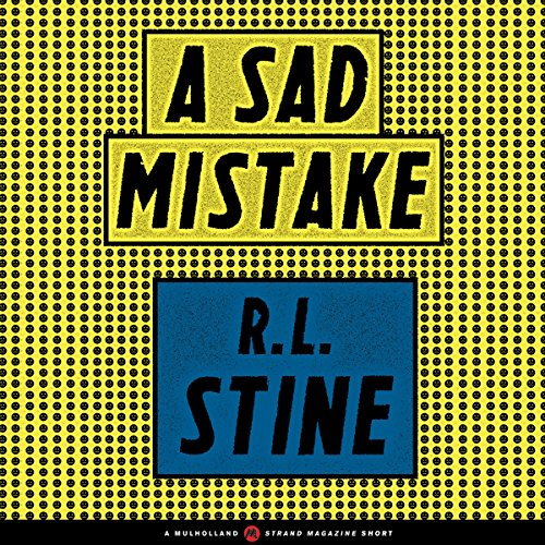 A Sad Mistake audiobook cover art