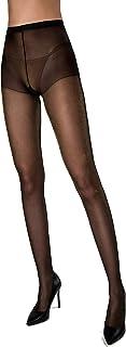 WOOTI collant REGINA in fibre metallizzate, calza lucida, alla moda, resistente, per occasioni speciali