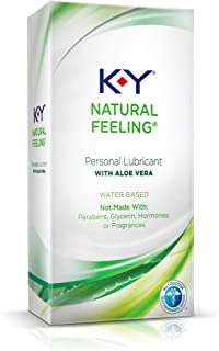 K-Y Natural Feeling Personal Lubricant With Aloe Vera-...