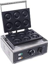 Machine à donut électrique en acier inoxydable 220 V (6 donuts)