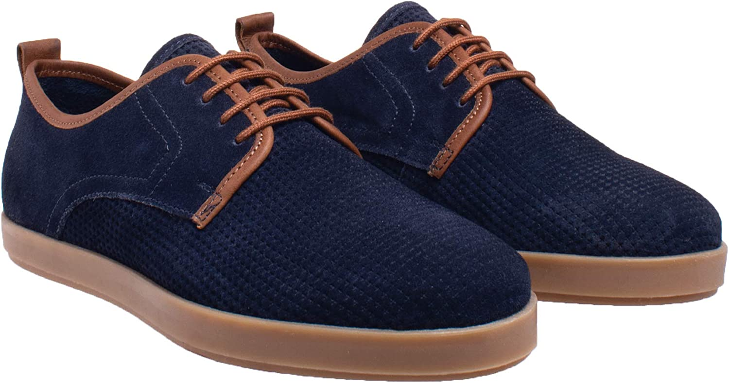 Lawrence Lace Max 53% OFF Up Sneaker Oxford Bargain sale Suede