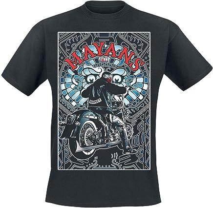 2ee9d6e2 Mayans Motorcyle Club T Shirt M.C. Ez Poster Logo Official Mens Black Size  XL