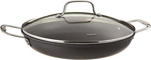 Cuisinart 625-30D Chef's Classic Nonstick Hard-Anodized 12-Inch Everyday Pan with Medium Dome Cover