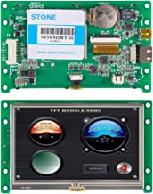 4.3 inch HMI Intelligent LCD Touch Display with PCB Controller Board-Whole Display System
